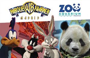 hotel más entrada Parque Warner y Zoo