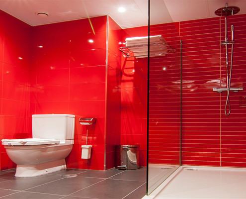 Baño Habitación Individual Deluxe
