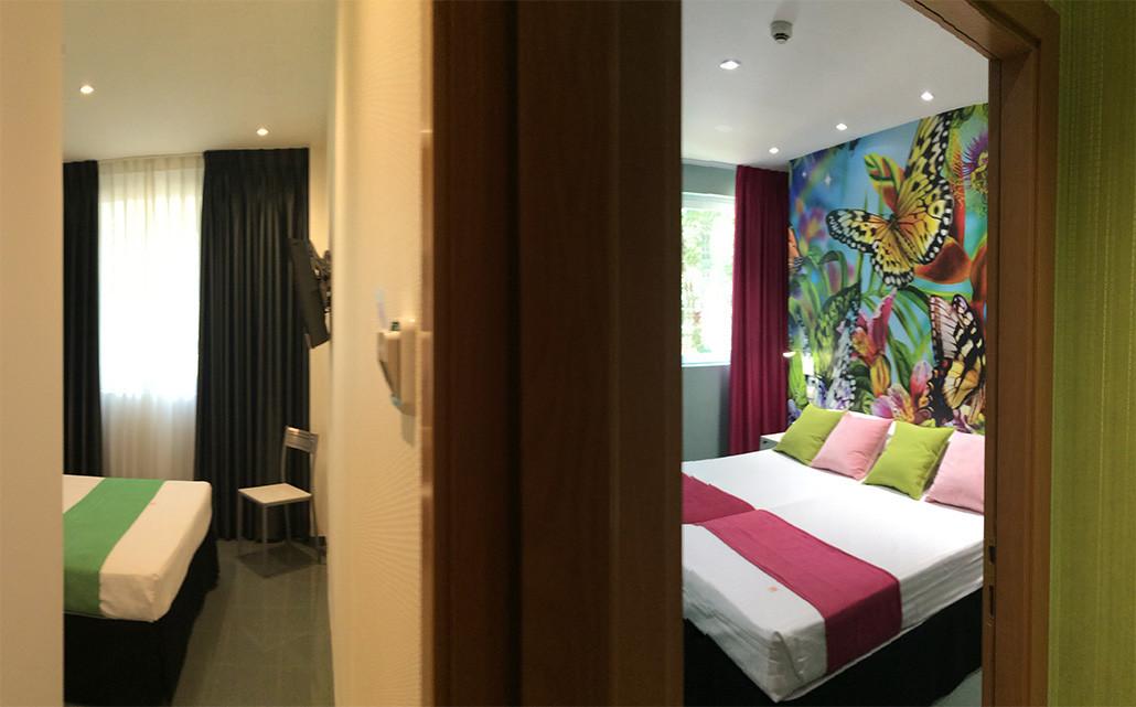 habitaciones comunicadas 5 personas hi hotel indiana