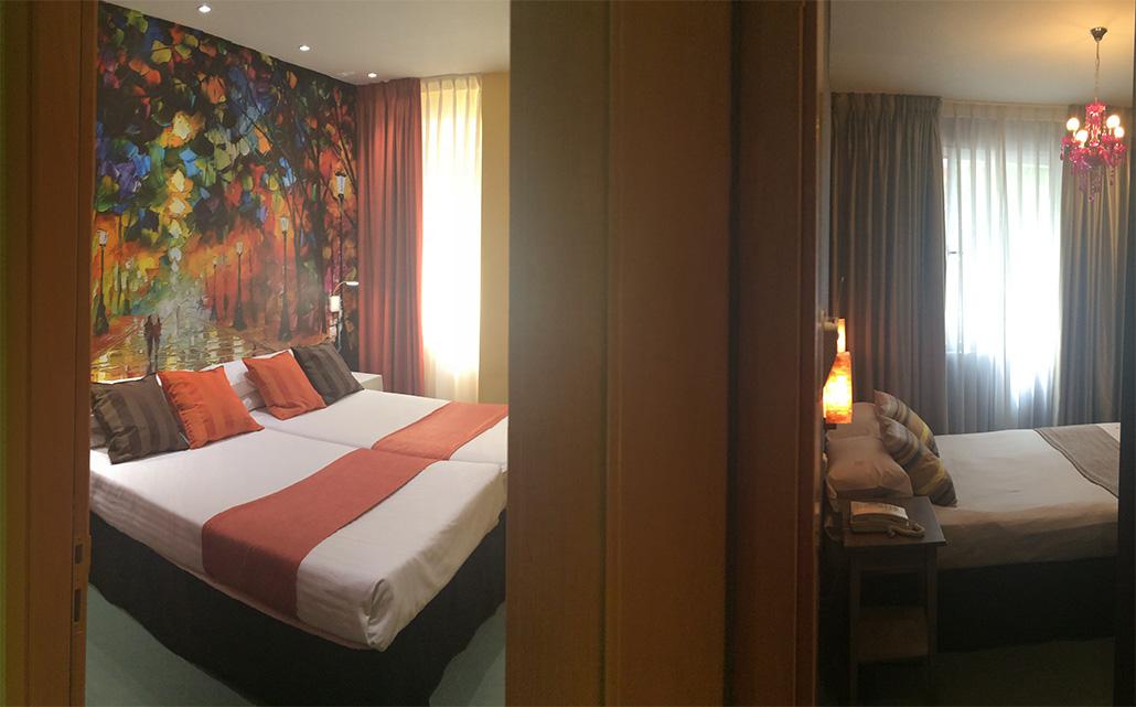 habitaciones comunicadas 4 personas hi hotel indiana