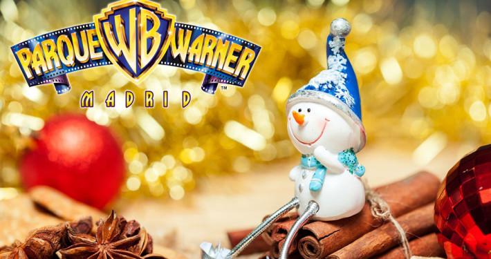 Parque Warner en Navidad