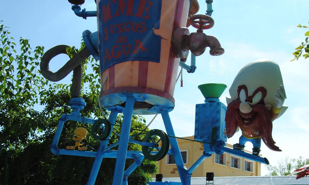 Parque Warner Juegos de agua ACME