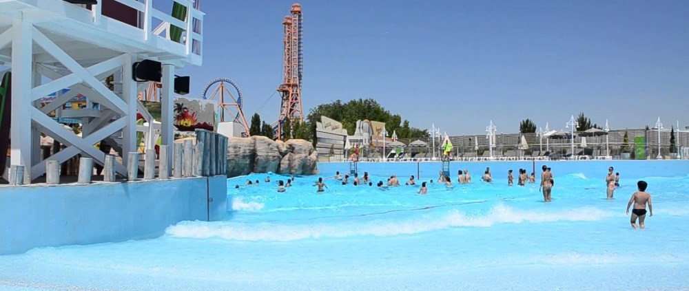 parques acuáticos madrid