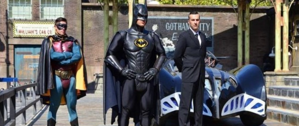 Gotham City espectaculo warner