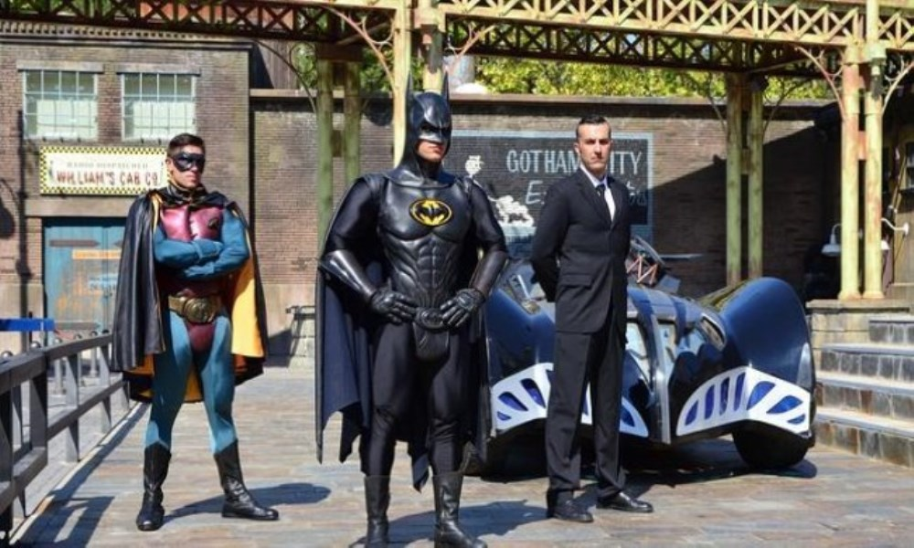 Gotham City espectaculo warner