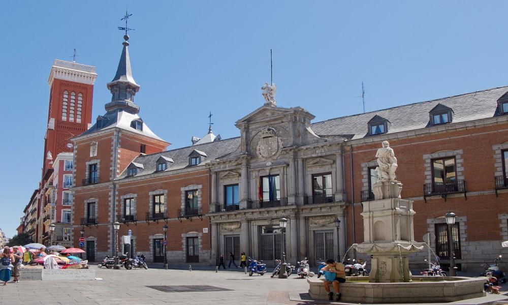 Palacio de Santa Cruz Madrid
