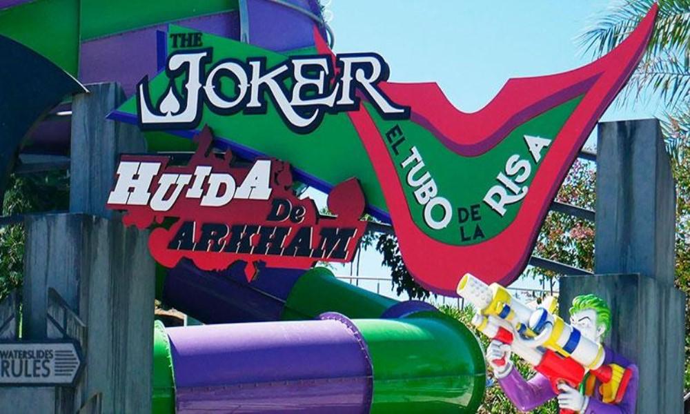 joker tubo de la risa warner