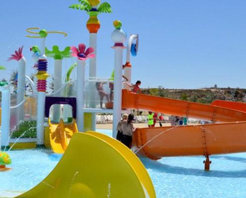 parque warner beach infantil