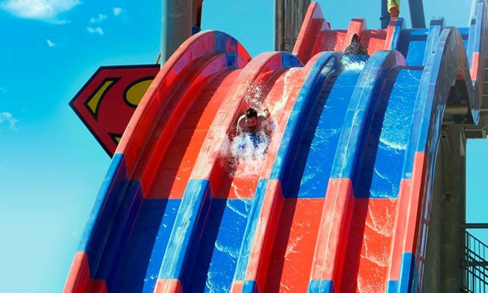 superman warner beach