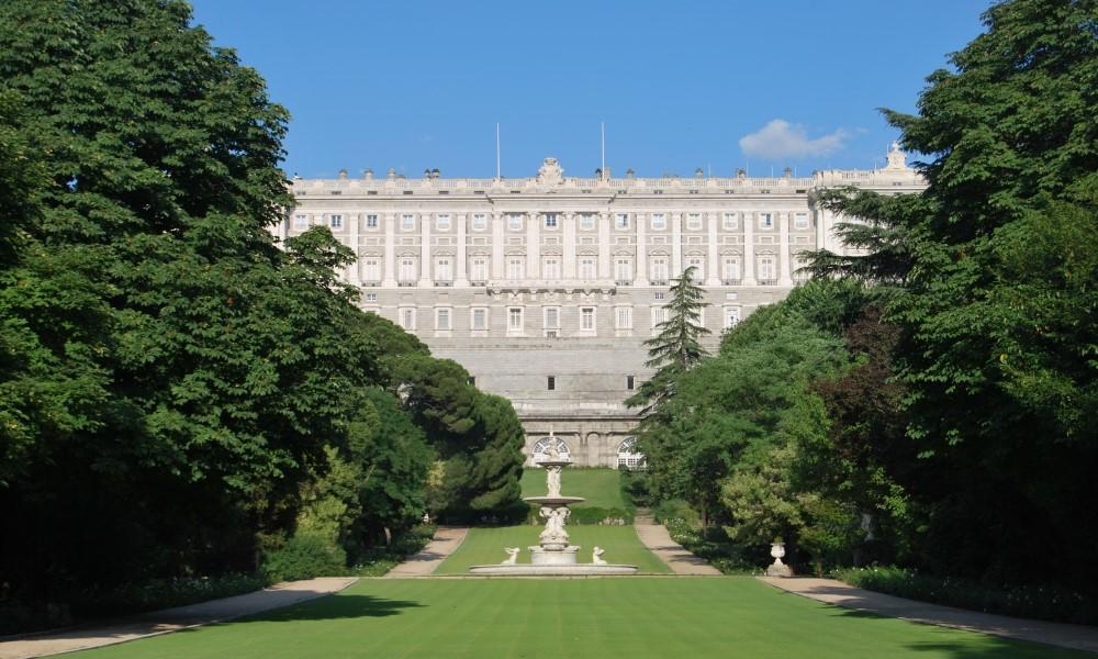 Jardines del Campo del Moro Madrid