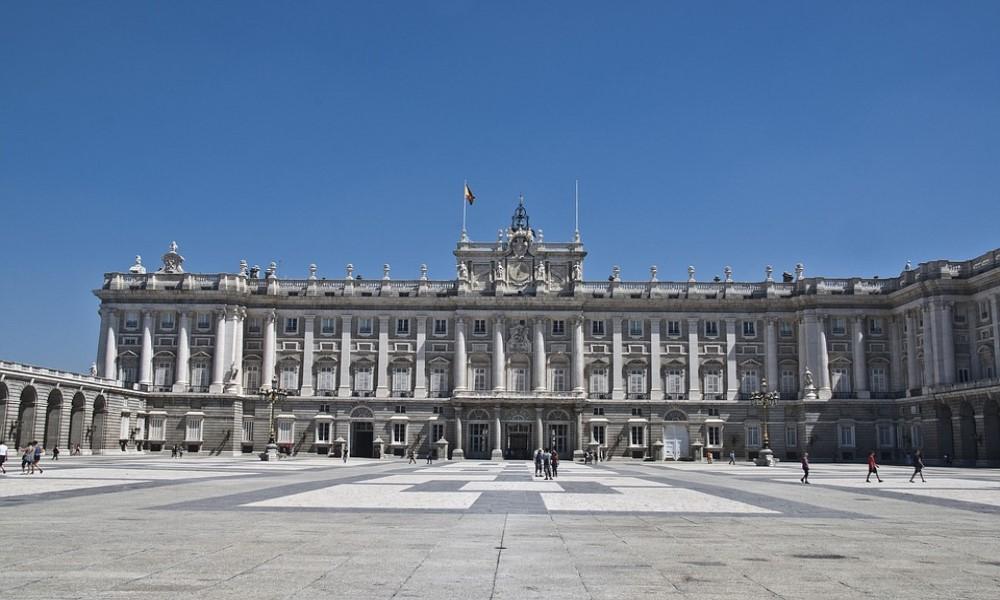 plaza palacio real de madrid