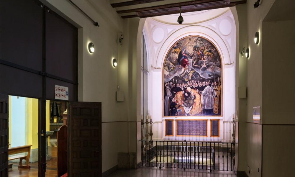 El entierro del conde de Orgaz Toledo