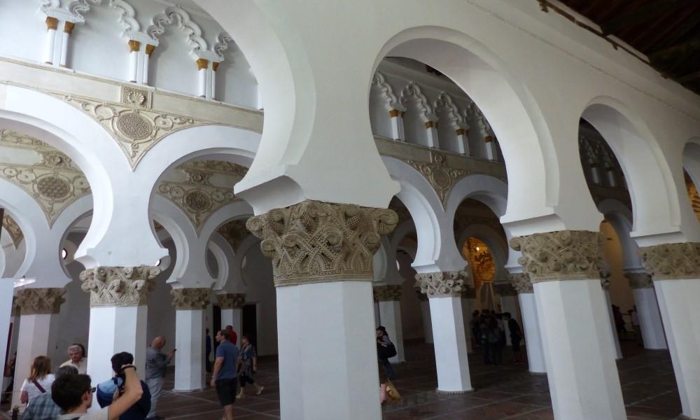 Sinagoga Santa María la Blanca Toledo