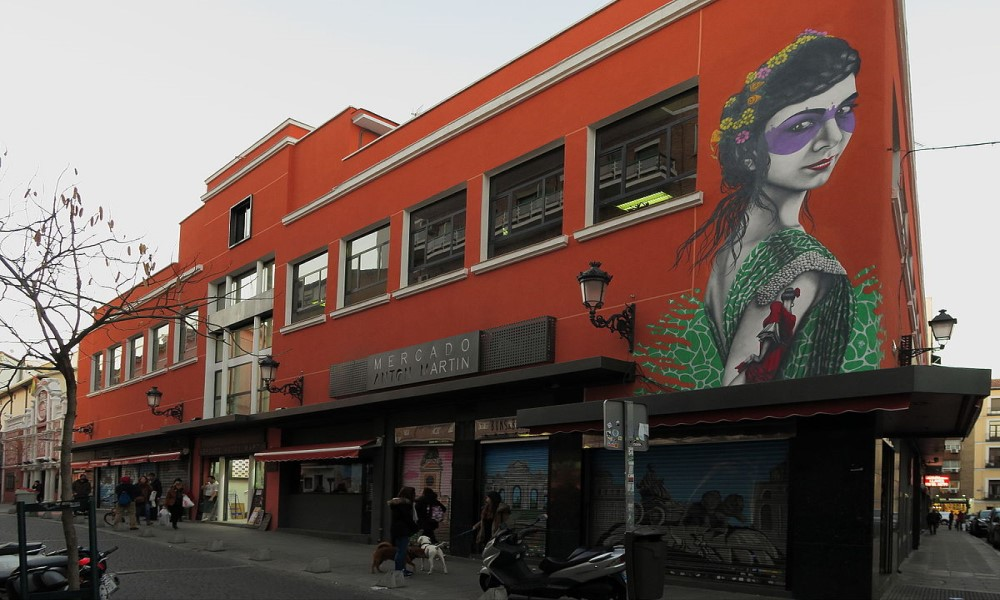 Mercado de Antón Martín Madrid
