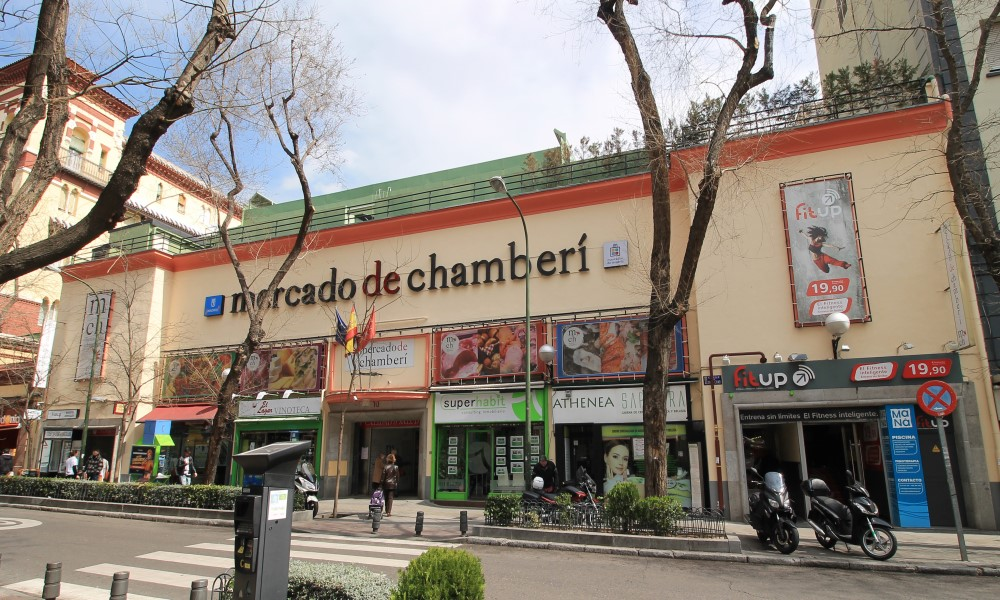 Mercado de Chamberí Madrid