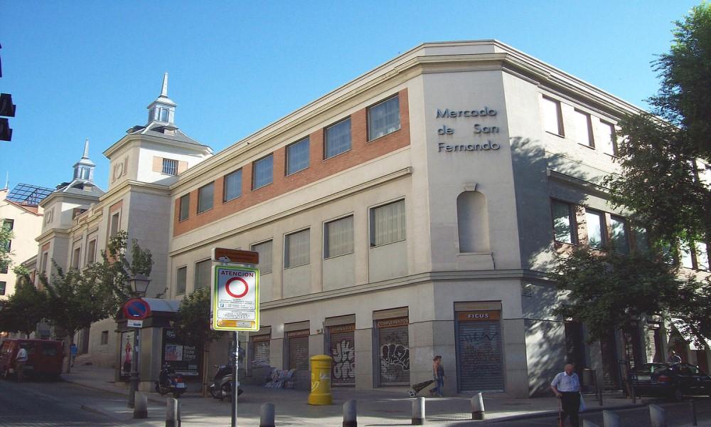 Mercado de San Fernando Lavapiés