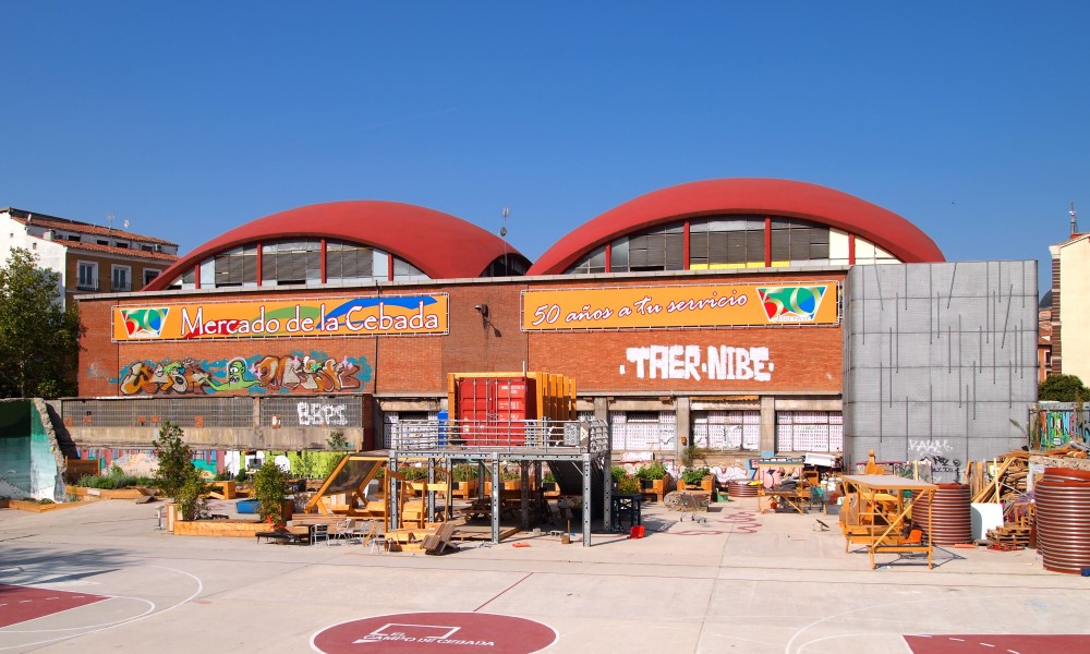 Mercado de la Cebada Madrid