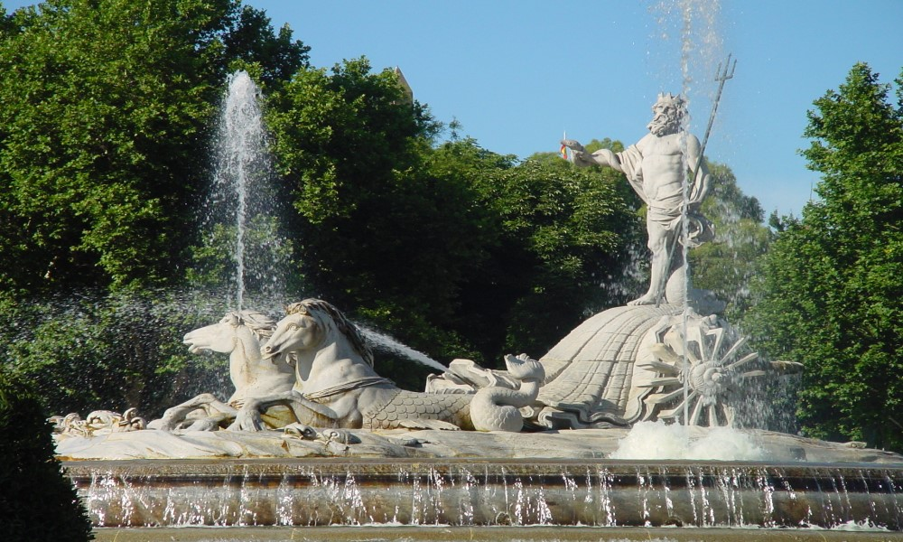 Fuente de Neptuno Madrid